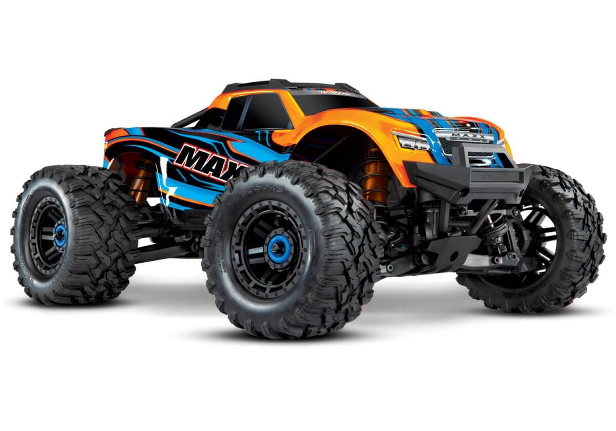 Traxxas Maxx Orange