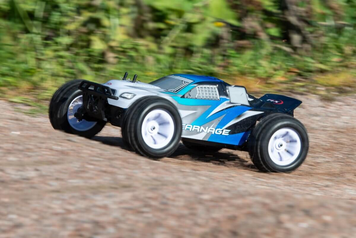 FTX Carnage Brushed versus Brushless comparison review brushed ready for the launch