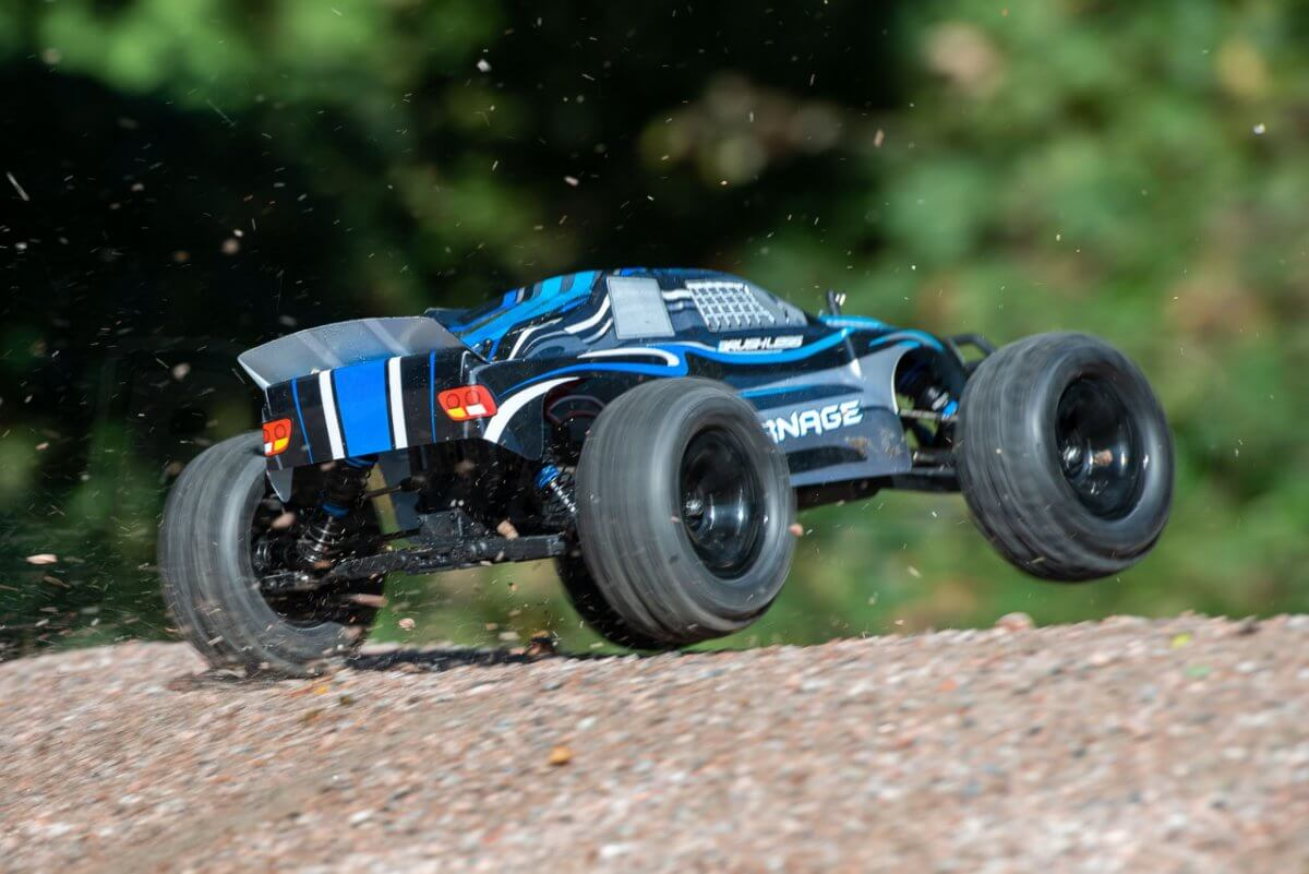 FTX Carnage Brushed versus Brushless comparison review brushless incredible acceleration liftoff
