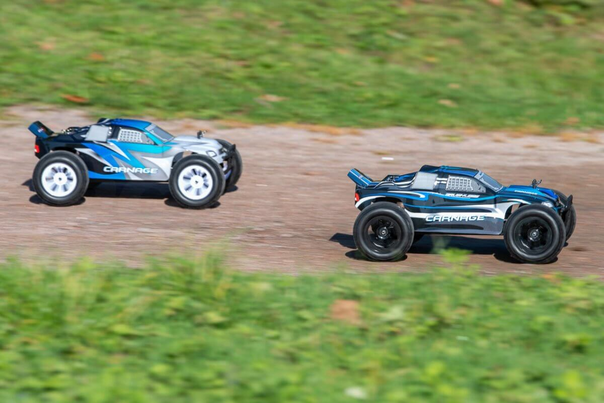 FTX Carnage Brushed versus Brushless comparison review racing winner