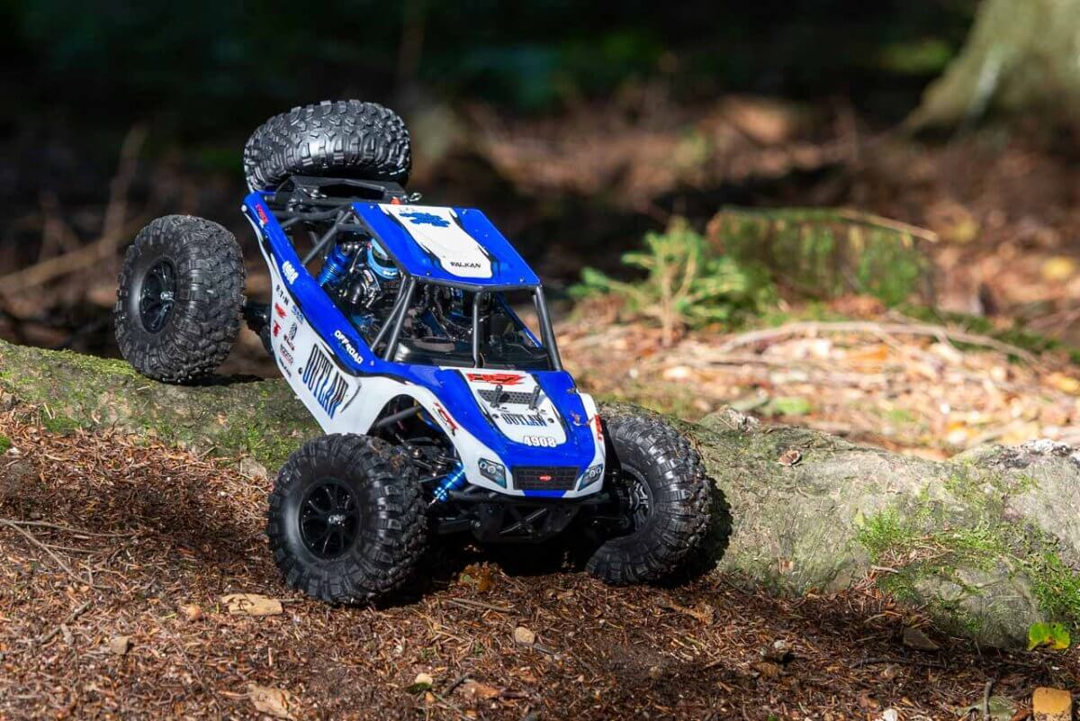 FTX Outlaw Ultra-4 Brushless Buggy Review descending log