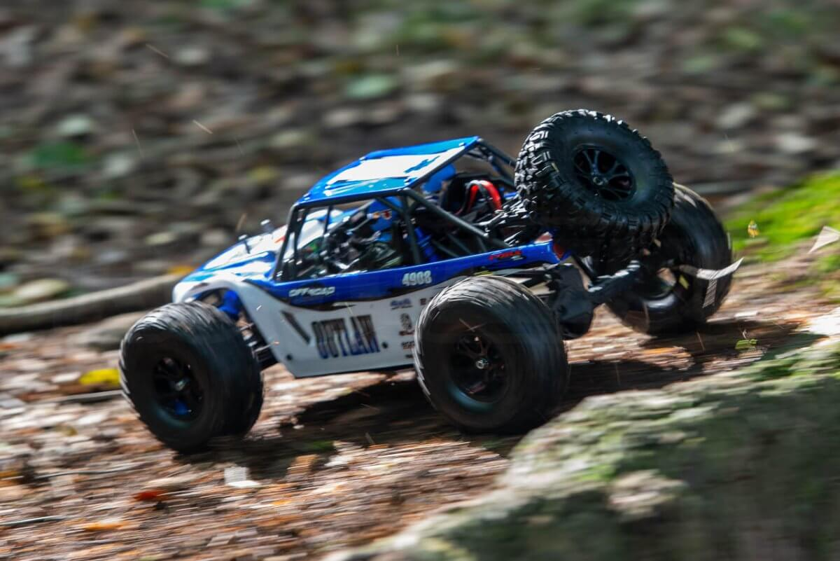 FTX Outlaw Ultra-4 Brushless Buggy Review high speed offroad