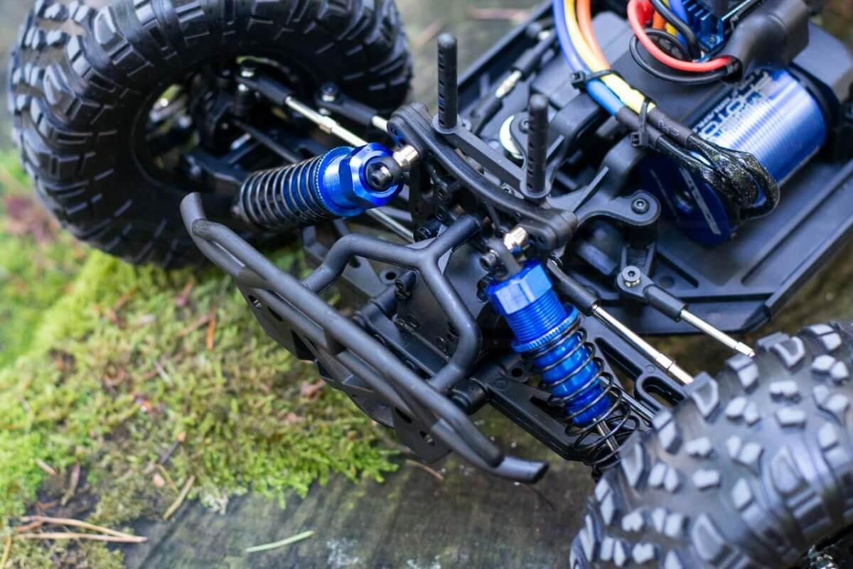FTX Outlaw Ultra-4 Brushless Buggy Review shocks