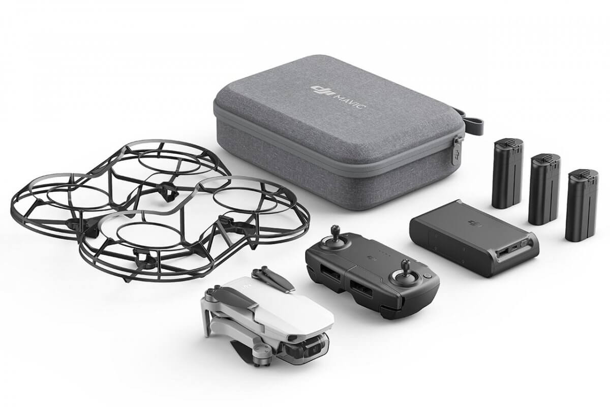 mavic mini uk launch Fly more combo contents