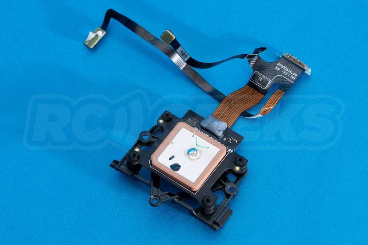 DJI Mavic Mini drone teardown guide repair GPS IMU loom removed