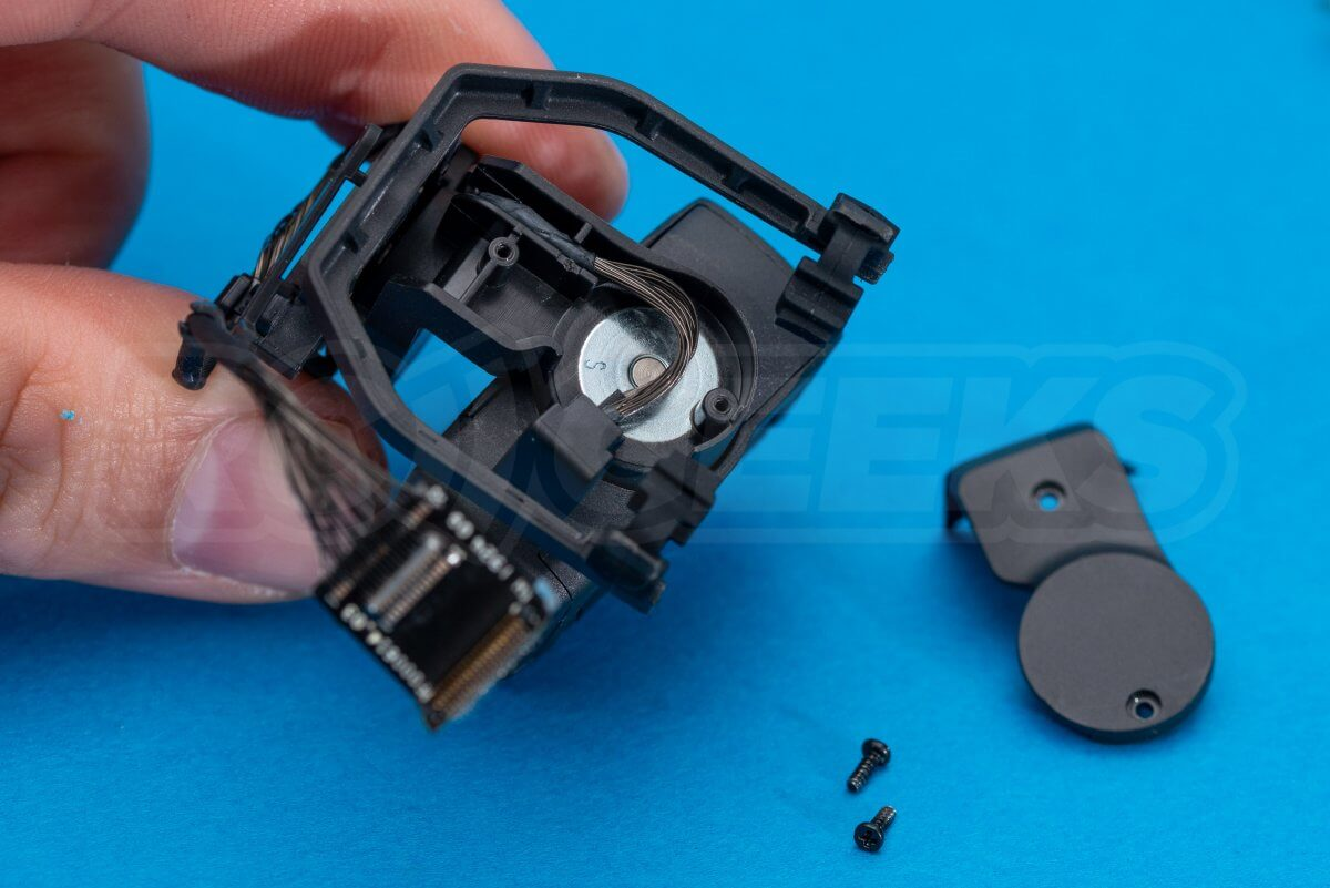 DJI Mavic Mini drone teardown guide repair gimbal dismantle side cover
