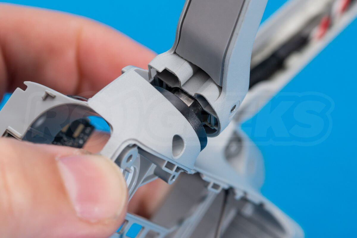 DJI Mavic Mini drone teardown guide repair remove rear arm released