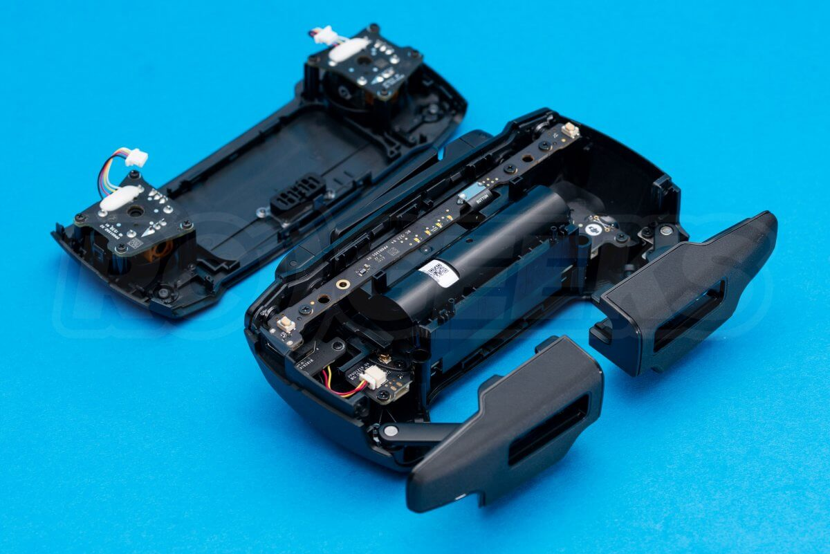 DJI Mavic Mini drone teardown guide repair transmitter casing split