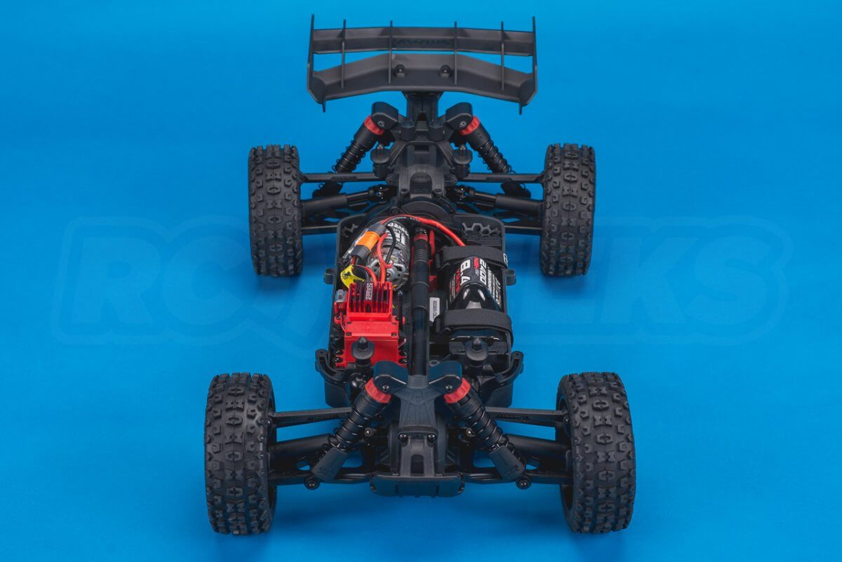 Arrma Typhon MEGA 4x4 Buggy Review chassis front