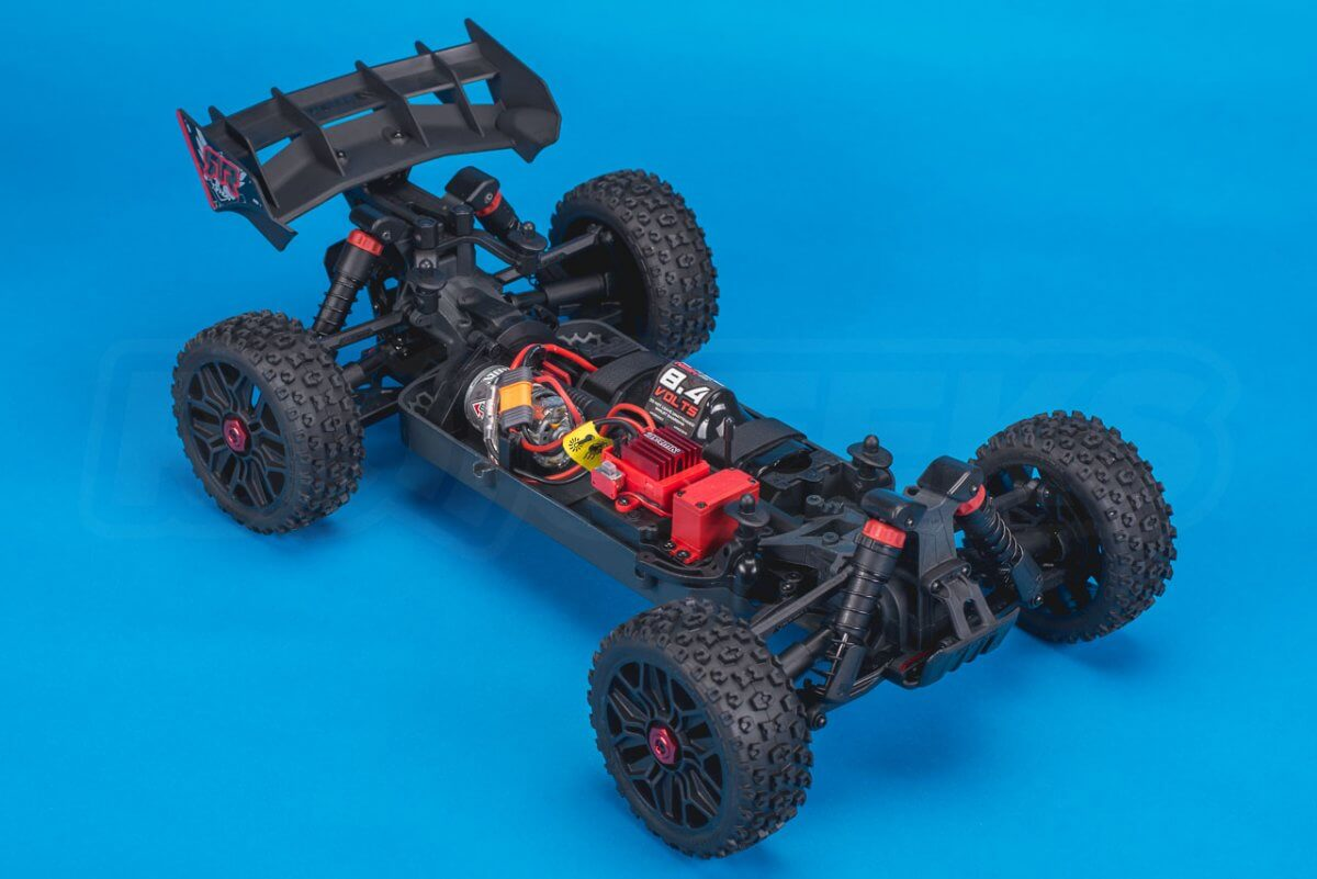 Arrma Typhon MEGA 4x4 Buggy Review chassis front left