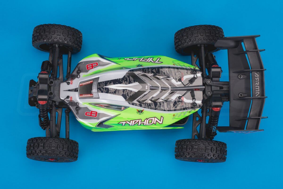 Arrma Typhon MEGA 4x4 Buggy Review studio above