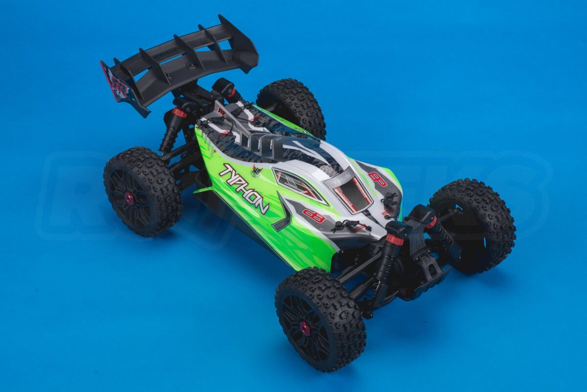 Arrma Typhon MEGA 4x4 Buggy Review studio front right