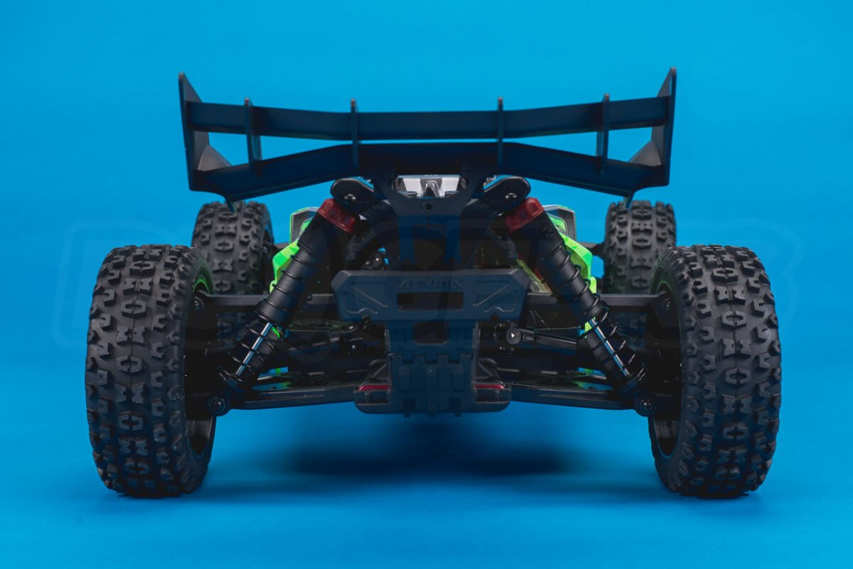 Arrma Typhon MEGA 4x4 Buggy Review studio rear