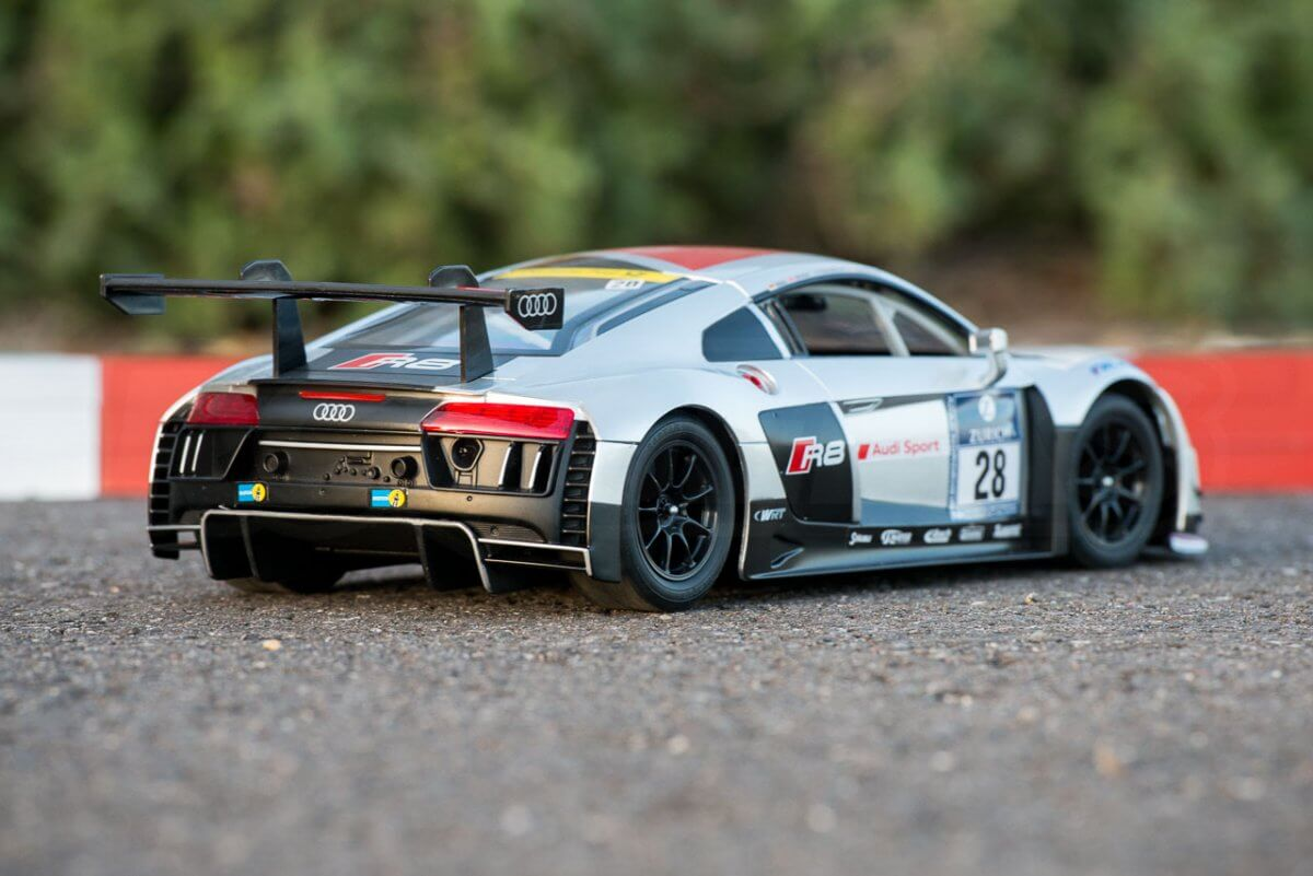 Rastar 14th Scale GT Racing cars review Audi R8 LMS feature rear low