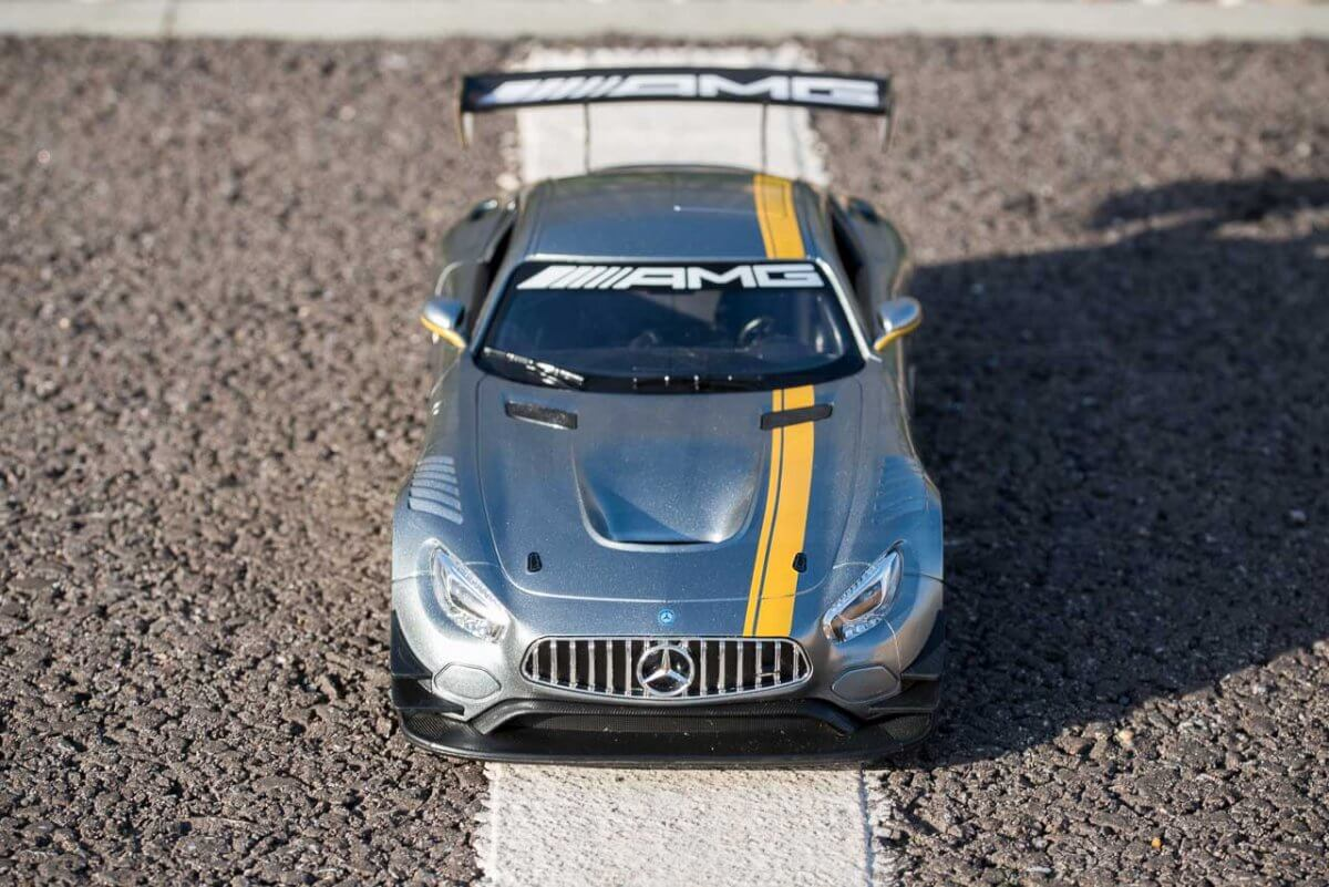Rastar 14th Scale GT Racing cars review Mercedes AMG GT3 high front insta