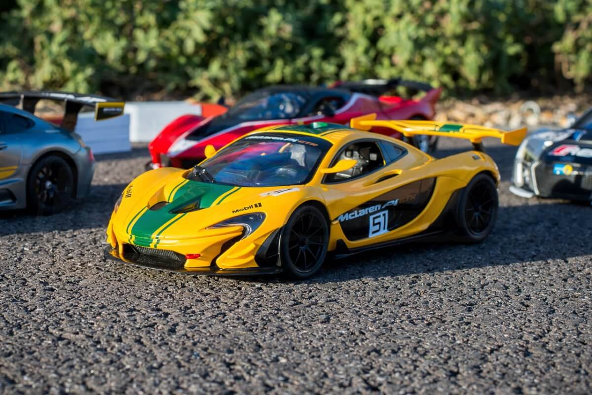 Rastar 14th Scale GT Racing cars review group packed mclaren