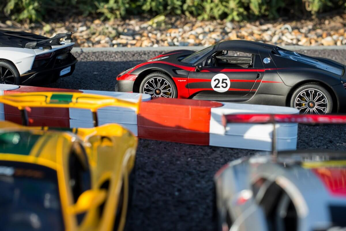 Rastar 14th Scale GT Racing cars review loose group
