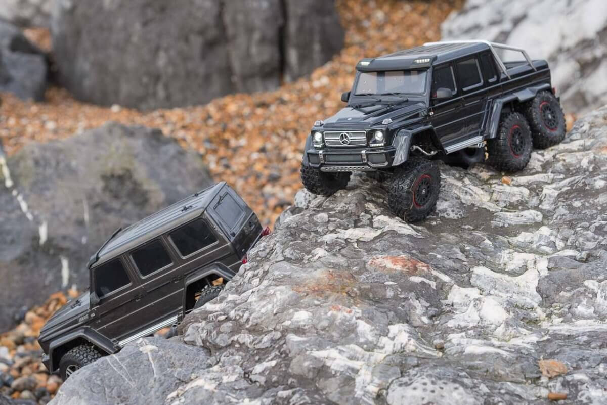 Traxxas TRX-6 Mercedes Benz G63 AMG Review TRX-4 comparison seaside assault