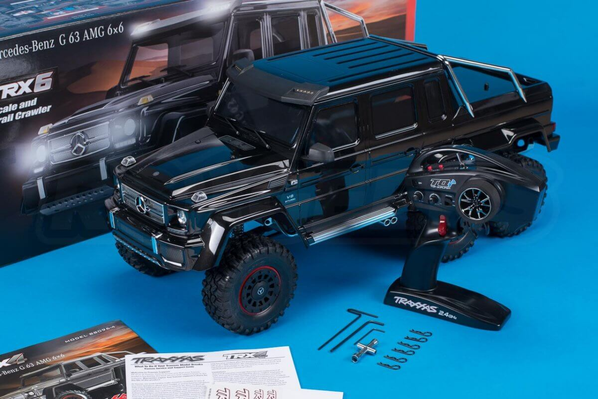 Traxxas TRX-6 Mercedes Benz G63 AMG Review Unboxing