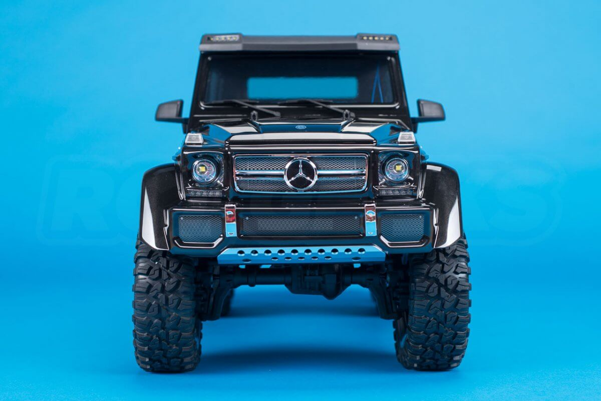 Traxxas TRX-6 Mercedes Benz G63 AMG Review front