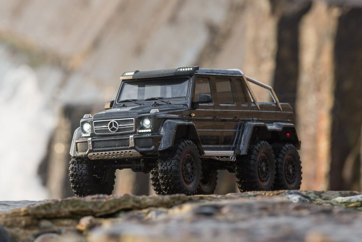 Traxxas TRX-6 Mercedes Benz G63 AMG Review posed seaside front insta
