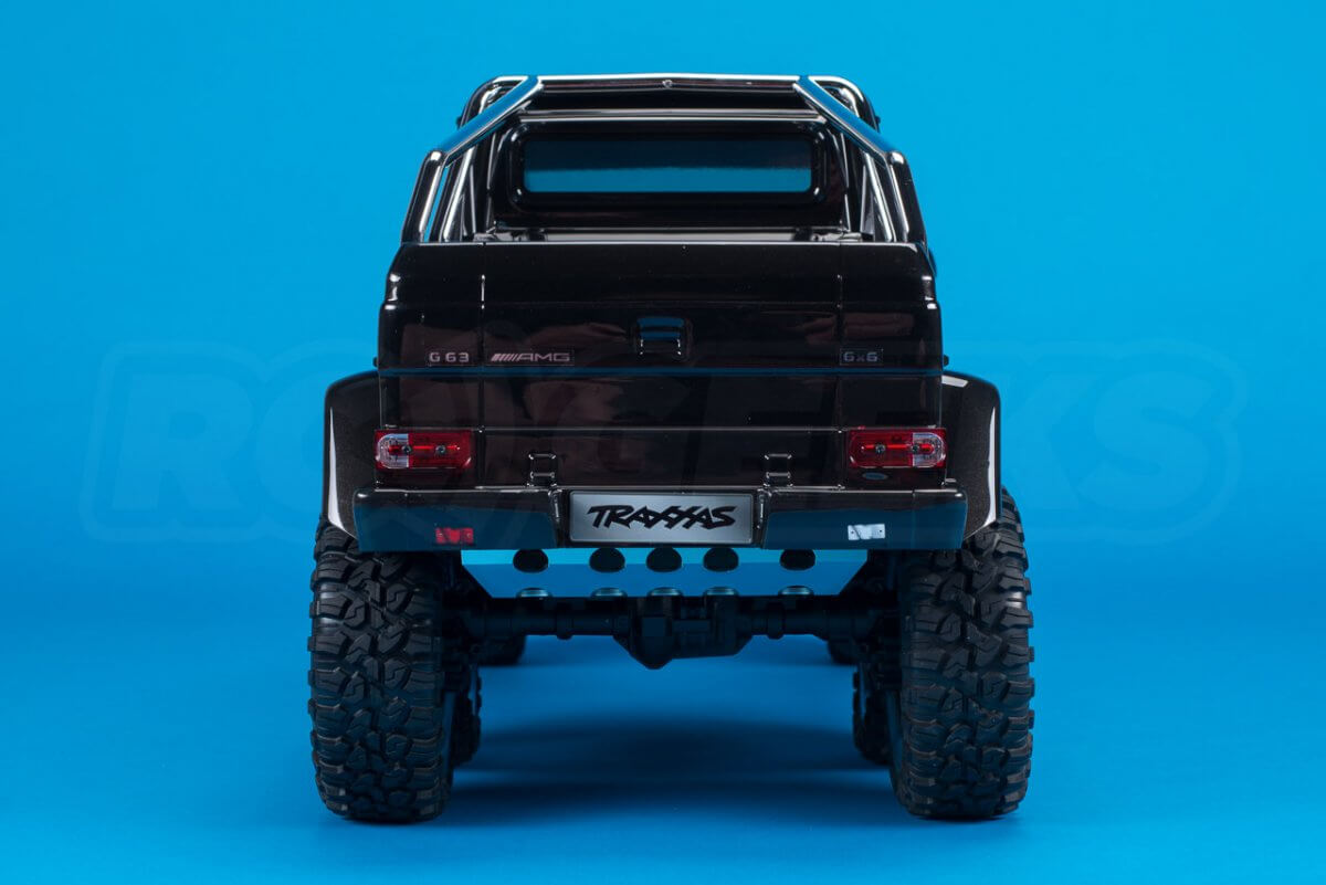 Traxxas TRX-6 Mercedes Benz G63 AMG Review rear