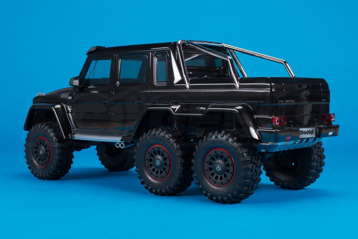 Traxxas TRX-6 Mercedes Benz G63 AMG Review rear three quarter